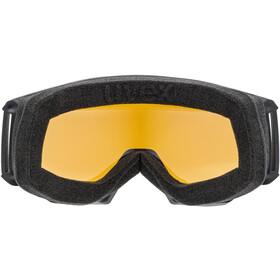 UVEX Athletic LGL Gafas, negro/blanco